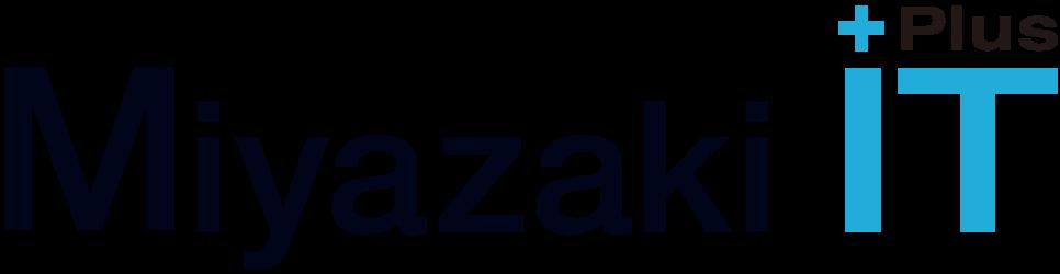宮崎市ICT企業連絡協議会、通称Miyazaki IT Plusのロゴ