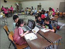 子ども向けCAMPクリケットワークショップのイメージ画像